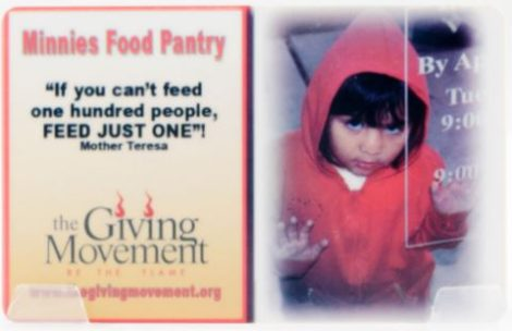 Minnie Food Pantry Dallas TX - The Giving Moment Fundraisier