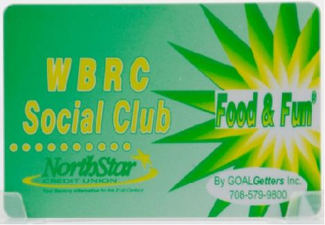BP Amoco Social Club Card