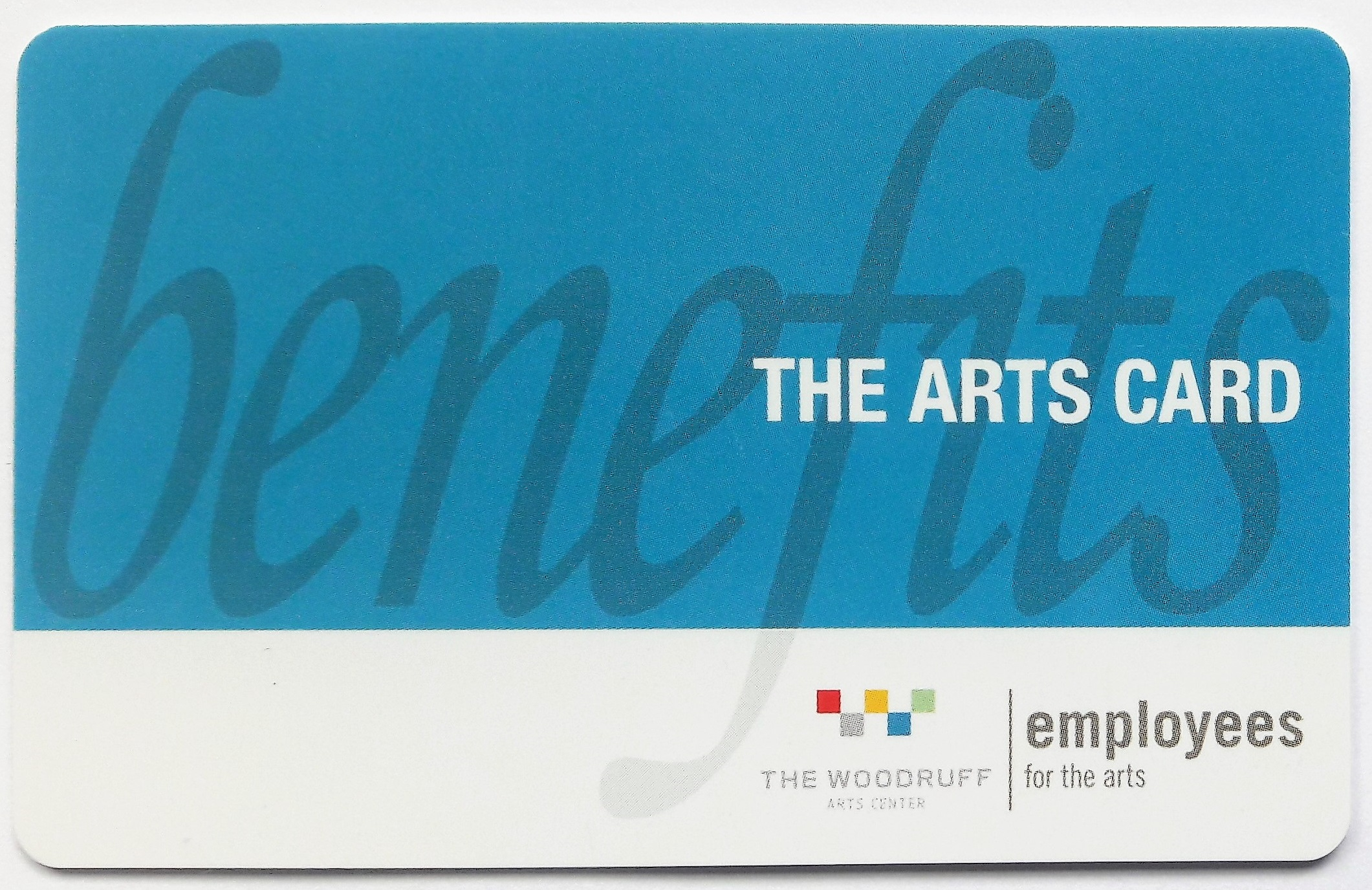 Arts Card Employee Appreciation rewards cards
