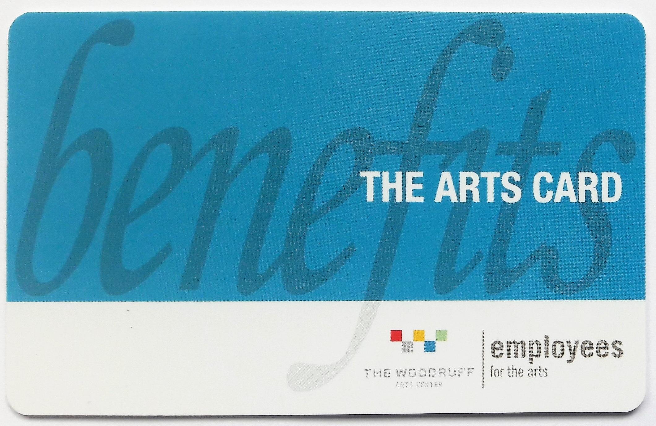 Arts Card Employee Appreciation rewards cards