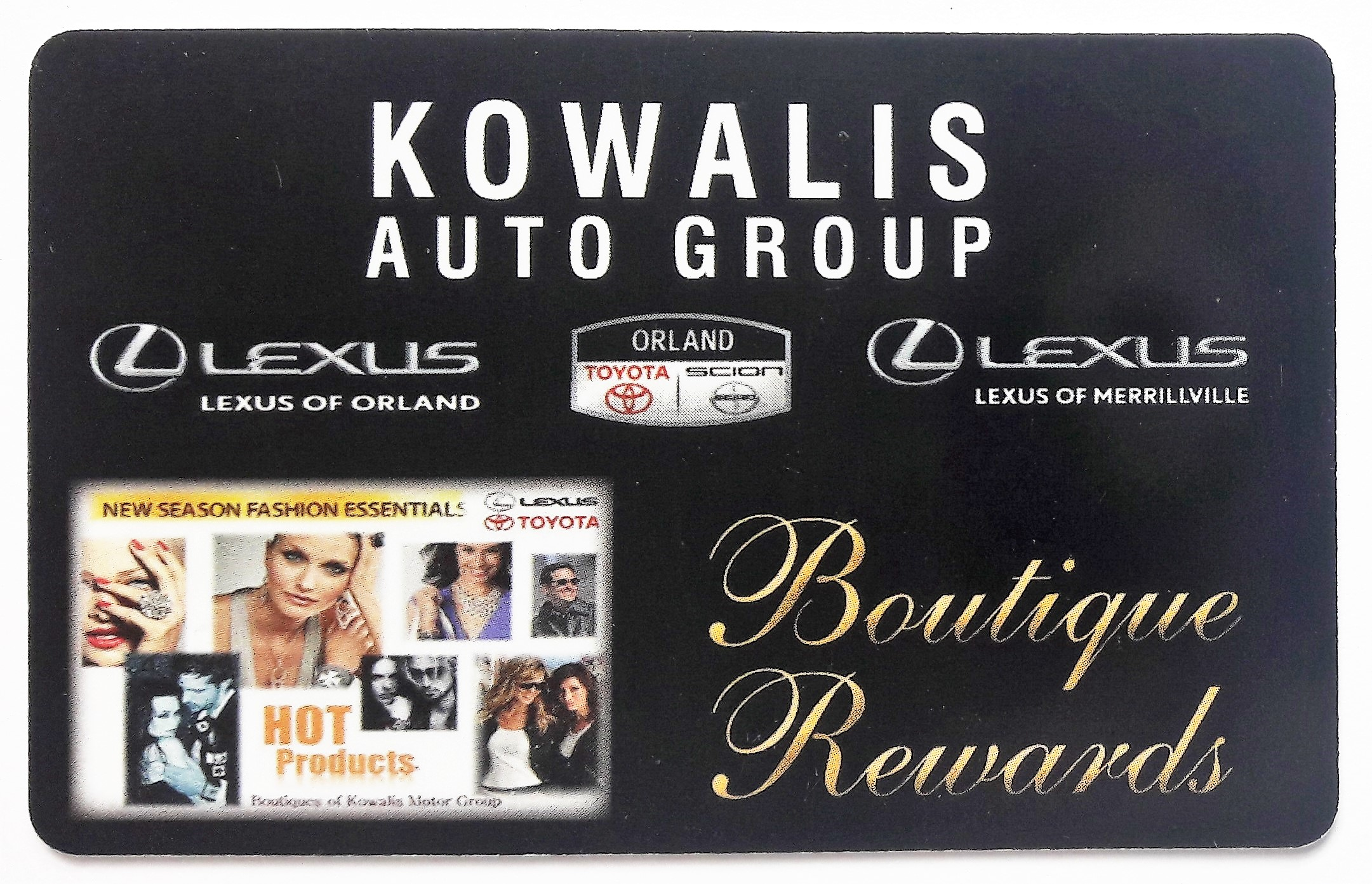 Kowalis fundraising cards